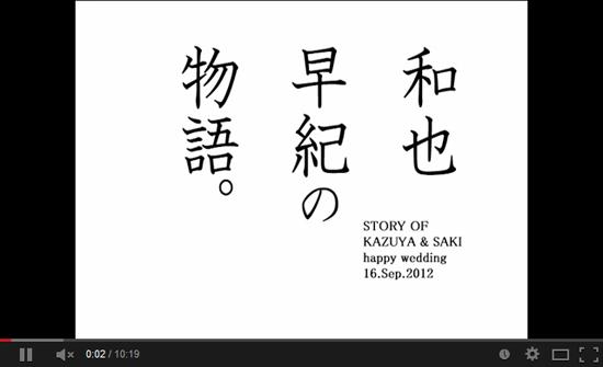 movie y05 結婚式のプロフィールビデオをムービーメーカーで作ってみよう!無料素材やおすすめ動画も!