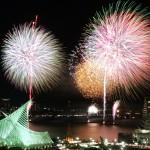みなとこうべ海上花火大会2014年の日程と穴場スポット9!