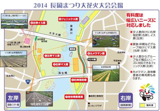 hanabi nagaoka03 長岡花火大会!2014年の日程とチケット情報!厳選穴場スポットも!
