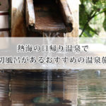 熱海の日帰り温泉で貸切風呂があるおすすめの温泉旅館8選!