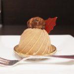 ヴィタメール梅田大丸のメニューのモンブランが甘さ控えめでめっちゃ美味しい!