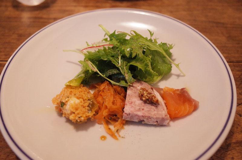 ラターブルドヤマサキの前菜
